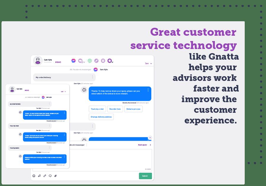 customer service technology